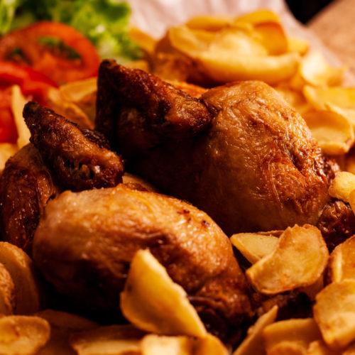 Chicken CrazypizzaBibione